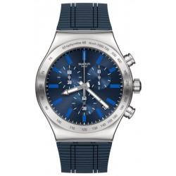 Orologio Swatch Uomo Irony Chrono Electric Blue YVS478