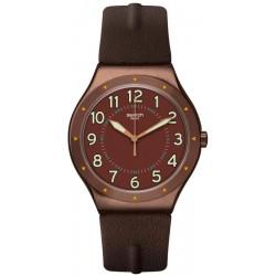 Orologio Swatch Uomo Irony Big Classic Copper Time YWC100