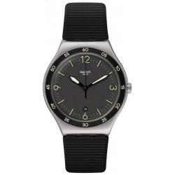 Orologio Swatch Unisex Irony Black Suit Big Classic YWS454