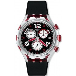 Orologio Swatch Uomo Irony Xlite Red Wheel YYS4004 Cronografo