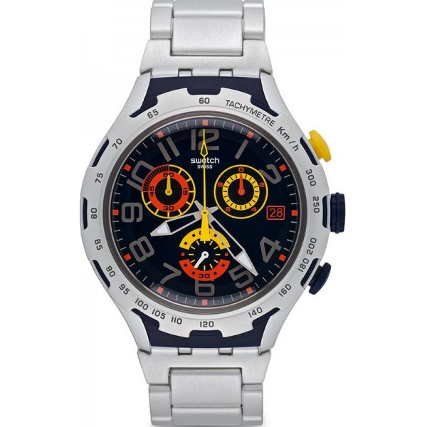 Comprare Orologio Swatch Uomo Irony Xlite Darkony Cronografo YYS4006AG