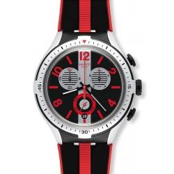 Orologio Swatch Uomo Irony Xlite Stripes YYS4013 Cronografo