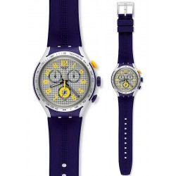 Orologio Swatch Uomo Irony Xlite Yellow Pusher Cronografo YYS4014