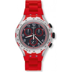 Orologio Swatch Uomo Irony Xlite Red Attack YYS4018AG Cronografo