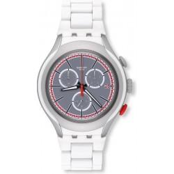 Orologio Swatch Uomo Irony Xlite White Attack YYS4019AG Cronografo