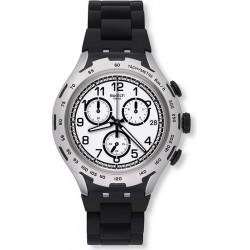 Swatch YYS4020AG Irony Xlite Chrono Black Attack Cronografo Orologio Uomo