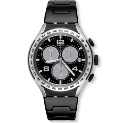 Orologio Swatch Uomo Irony Xlite Night Attack YYS4026AG Cronografo