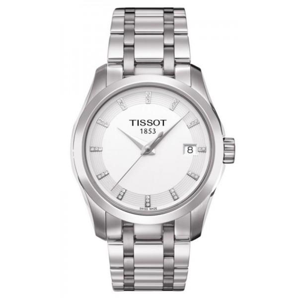 Comprare Orologio Donna Tissot T-Classic Couturier Quartz T0352101101600