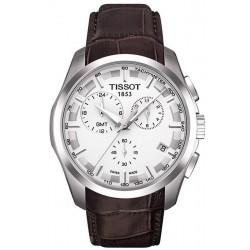 Orologio Uomo Tissot T-Classic Couturier GMT T0354391603100 Cronografo