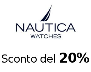 Offerte speciali orologi Nautica